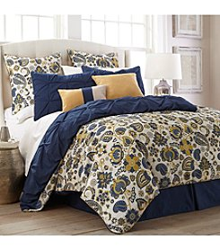 Pacific Coast Textiles® Lorna Paisley 8-pc. Comforter Set