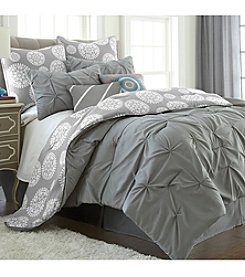 Pacific Coast Textiles® Lorna Floral 8-pc. Comforter Set