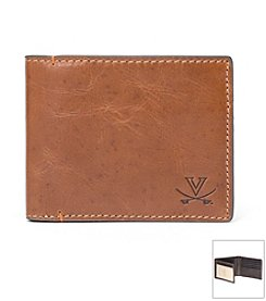 Jack Mason Men's University of Virginia Hangtime Traveler Wallet