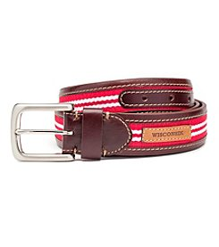 Jack Mason Men's University of Wisconsin Tailgate Belt