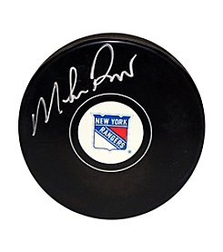 NHL® New York Rangers Mike Richter Autograph Puck