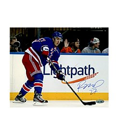 NHL® New York Rangers Ryan McDonagh Blue Jersey Signed Photo