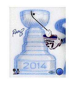 Steiner Sports Memorabilia Men's Ryan McDonagh Signed Skating Over 2014 Stanley Cup Logo 16x20 Photo