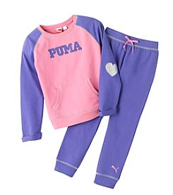 PUMA® Girls' 2T-6X Love Sparkle Set