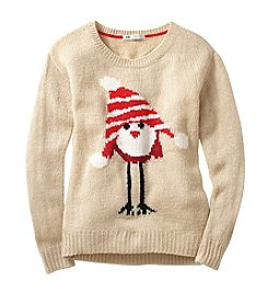 Jolt® Bird in Hat Critter Sweater