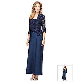 Alex Evenings® Sequin Lace Jacket Dress