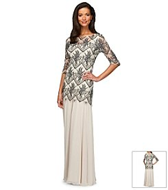 Alex Evenings® Drop Waist Gown