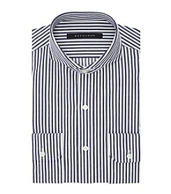Sean John® Regular Fit Railroad Stripe Dress Shirt