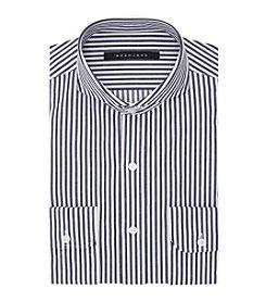Sean John® Regular Fit Railroad Stripe Dress Shirt