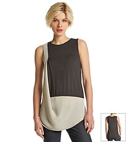 DKNYC® City Jersey Sleeveless Top