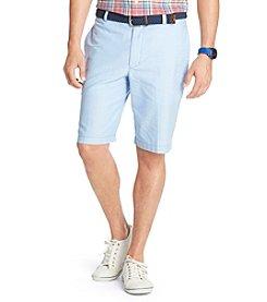 Izod Men's Flat Front Oxford Shorts