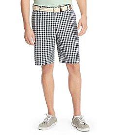 Izod® Men's Flat Front Poplin Shorts
