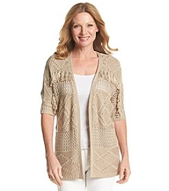 Ruby Rd.® Coral Canyon Solid Tunic Cardigan