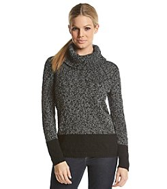 Calvin Klein Marled Turtleneck Sweater