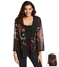 Jessica Simpson Cecile Gardenia Woven Kimono