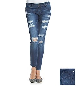Celebrity Pink Destructed Slim Boyfriend Jeans