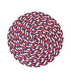 LivingQuarters Confetti Americana Round Placemat
