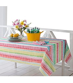 LivingQuarters Zig Zag Table Linens