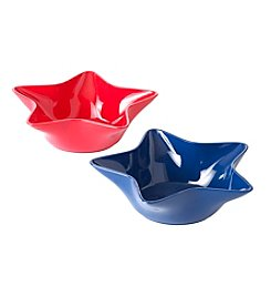 LivingQuarters Americana Star Shaped Small Bowl