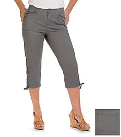 Lee® platinum label Solid Relaxed Fit Capris