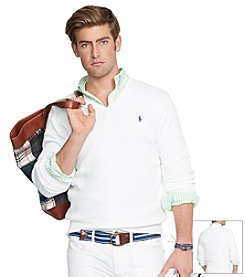 Polo Ralph Lauren® Men's Pima V-Neck Sweater