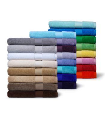 6 Ralph Lauren Wescott Bath Towel Collection + Washcloth