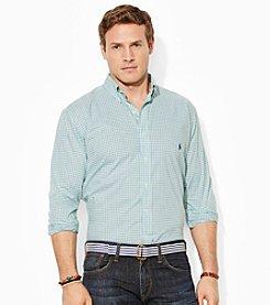 Polo Ralph Lauren® Men's Big & Tall Long Sleeve Poplin Shirt