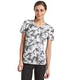 Exertek® Short Sleeve Abstract Print Tee