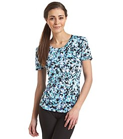 Exertek® Short Sleeve Abstract Print Tee