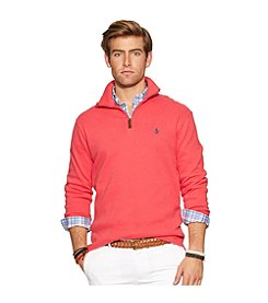 Polo Ralph Lauren® Men's Long Sleeve Ribbed Half Zip