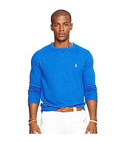 Polo Ralph Lauren® Men's Long Sleeve French Terry Sweatshirt