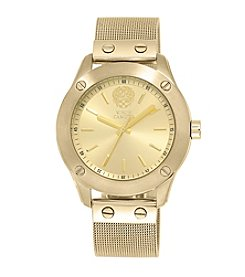 Vince Camuto™ Women's Goldtone Watch with Soft Mesh Bracelet