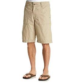 Ruff Hewn Men's Ripstop Flat Front Short