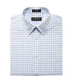 John Bartlett Statements Men's Grid Oxford Dress Shirt