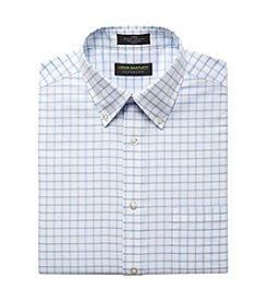 John Bartlett Statements Men's Grid Oxford Dress Shirt