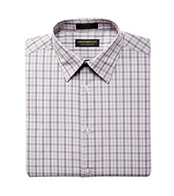 John Bartlett Statements Men's Broadcloth Grid Dress Shirt