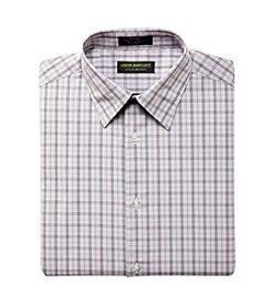 John Bartlett Statements Men's Broadcloth Grid Dress Shirt