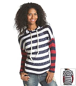 Hippie Laundry Striped Hooded Sweater