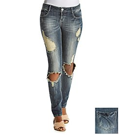 Hippie Laundry Skinny Destructed Jeans