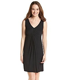 Relativity® Pleated Front Chemise