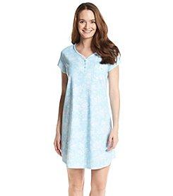 KN Karen Neuburger Henley Sleepshirt