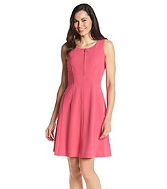 Nine West® Scuba Fit And Flare Dress