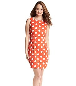 AGB® Polka Dot Prada Sheath Dress