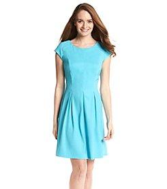 AGB® Pleated Sheath Dress