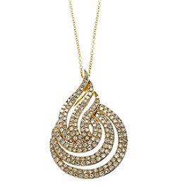 Effy® 0.79 ct. t.w. Diamond Swirl Pendant