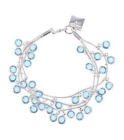 Anne Klein® Three Row Shaky Bracelet