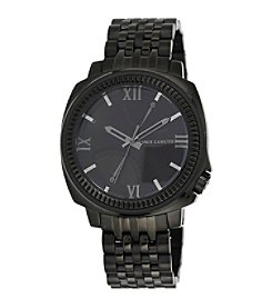 Vince Camuto™ Men's Black Stainless Steel Watch