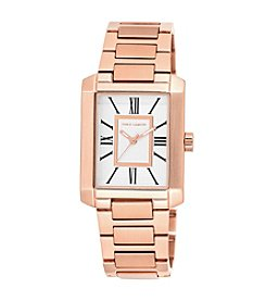 Vince Camuto™ Women's Rectangular Shape Rose Goldtone Watch