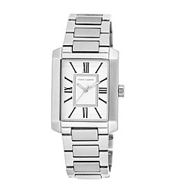 Vince Camuto™ Women's Rectangular Shape Silvertone Watch