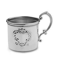 Empire Silver™ Pewter Beaded Raised Design Baby Cup